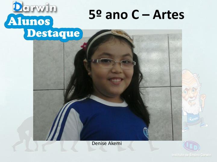 5º ano C – Artes
