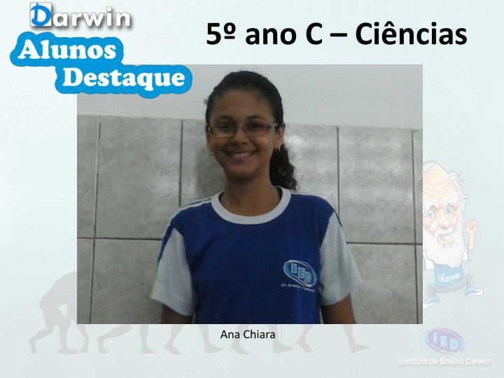 5º ano C – Ciências