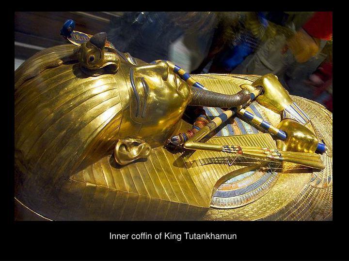Inner coffin of King Tutankhamun