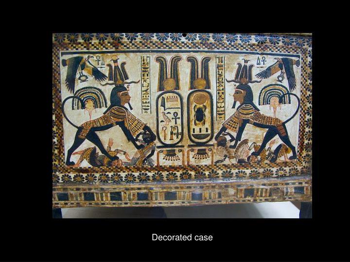 Decorated case