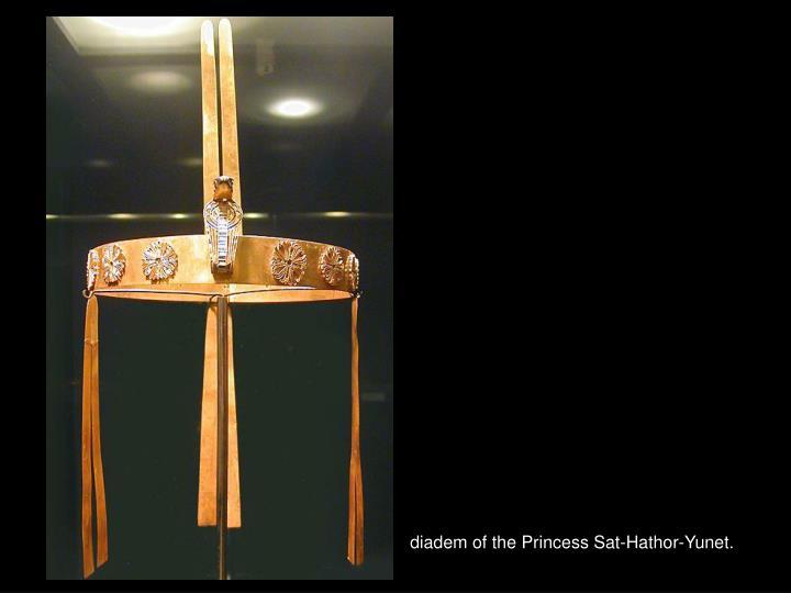 diadem of the Princess Sat-Hathor-Yunet.