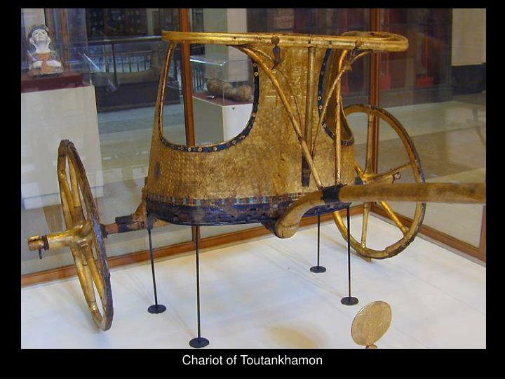 Chariot of Toutankhamon