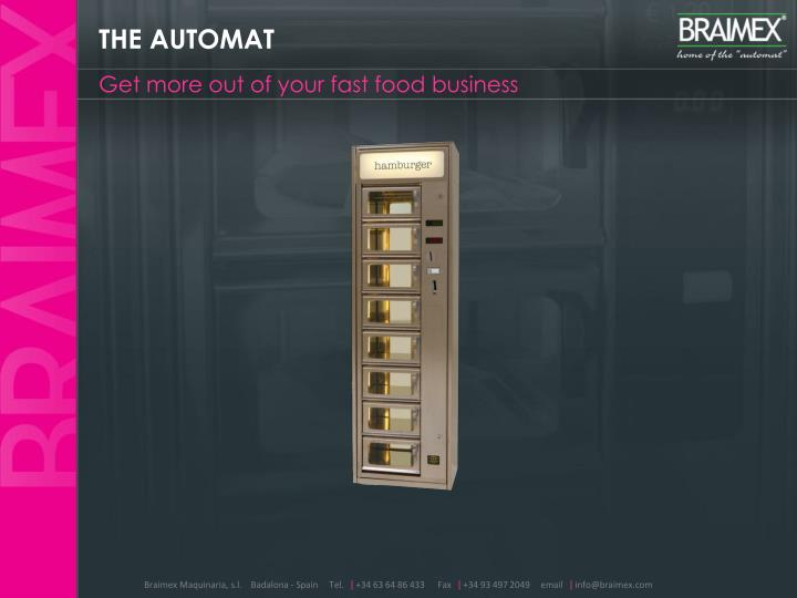 THE AUTOMAT