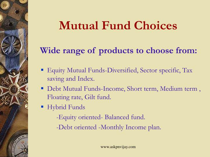 Mutual Fund Choices