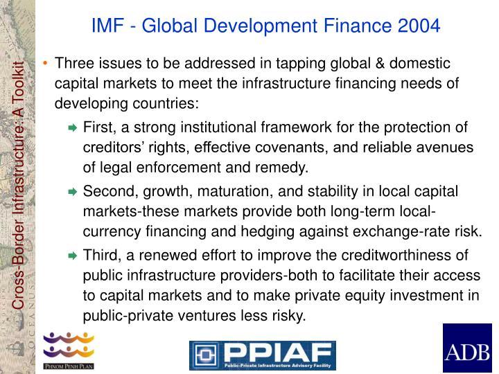 IMF - Global Development Finance 2004