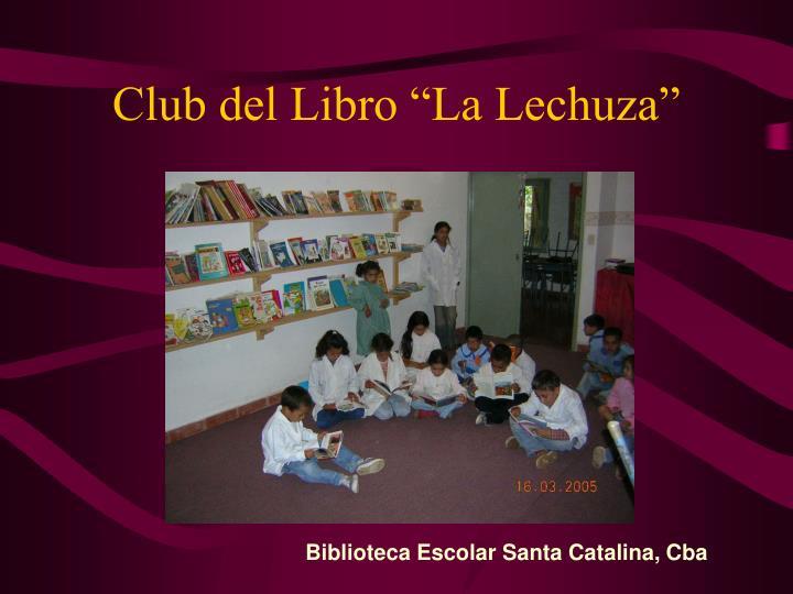 "Club del Libro ""La Lechuza"""