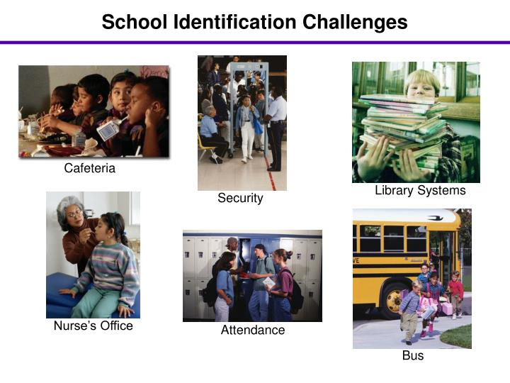 School Identification Challenges