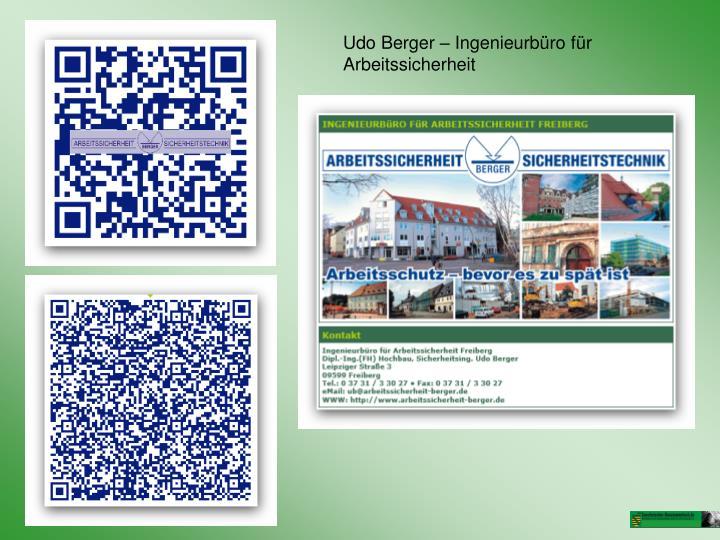 Udo Berger – Ingenieurbüro für