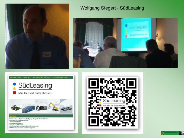 Wolfgang Stegert - SüdLeasing