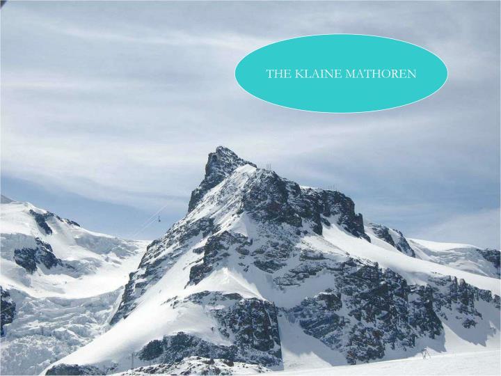 THE KLAINE MATHOREN