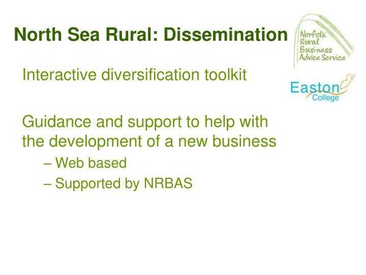 North Sea Rural: Dissemination