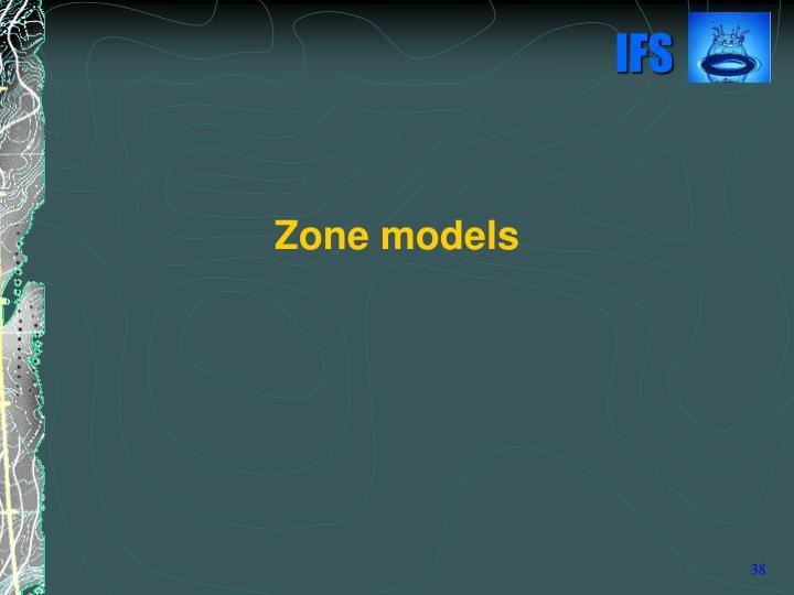 Zone models