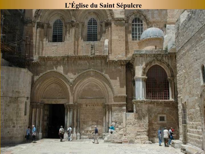 Lglise du Saint Spulcre