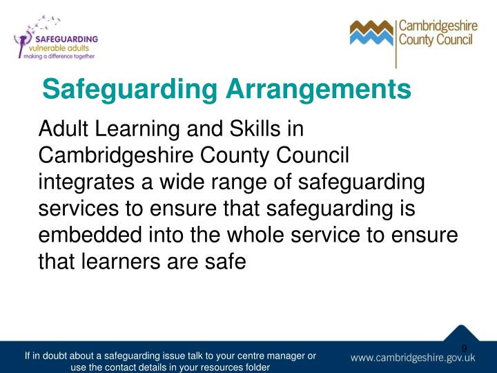 Safeguarding Arrangements