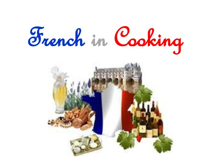 French in cooking