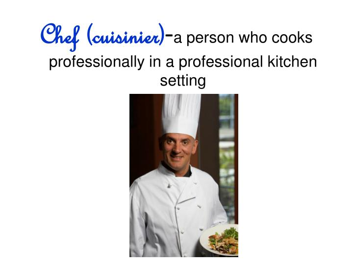 Chef (cuisinier)