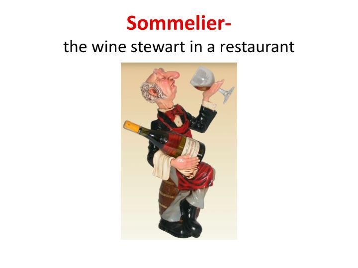 Sommelier-