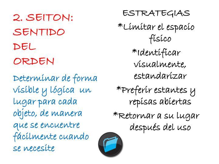 2. SEITON: