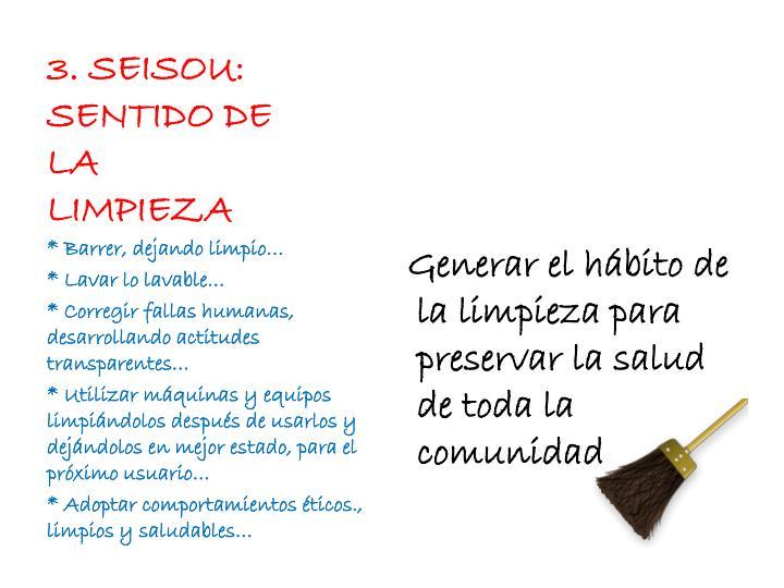 3. SEISOU: