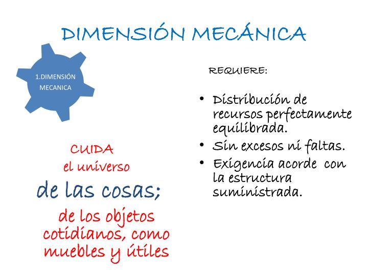 DIMENSIÓN MECÁNICA