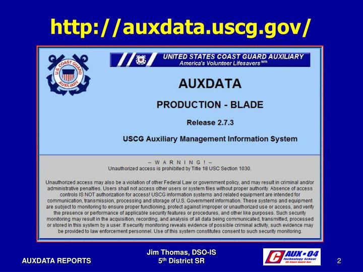 http://auxdata.uscg.gov/