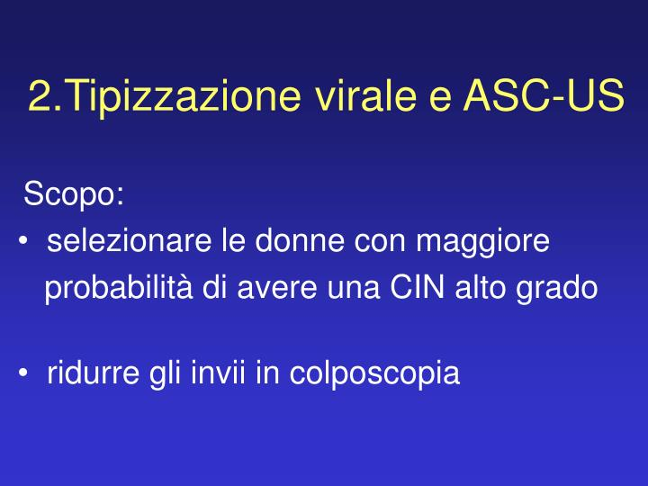 2.Tipizzazione virale