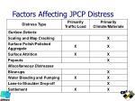 factors affecting jpcp distress1