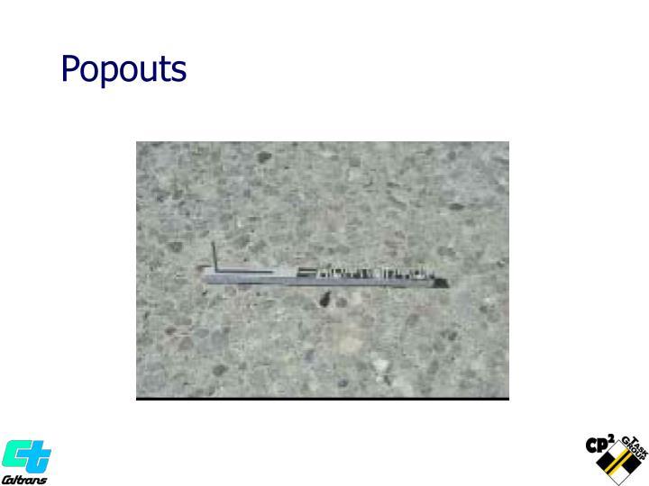 Popouts