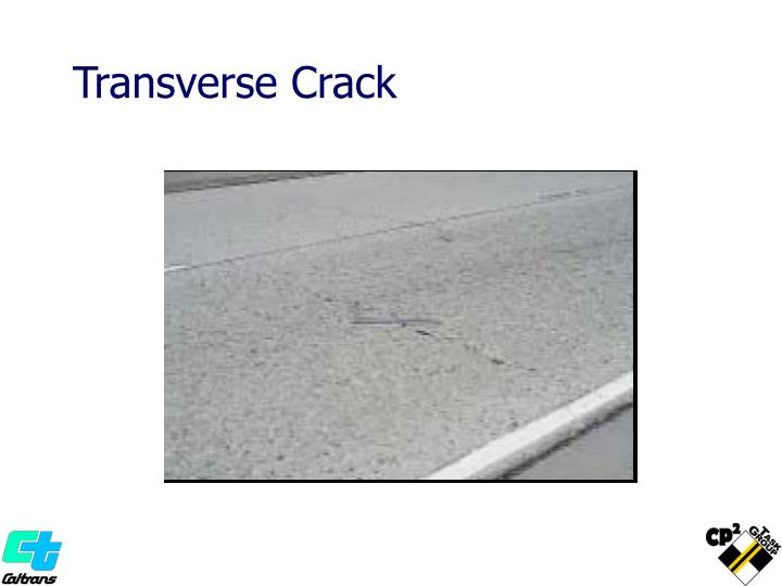 Transverse Crack