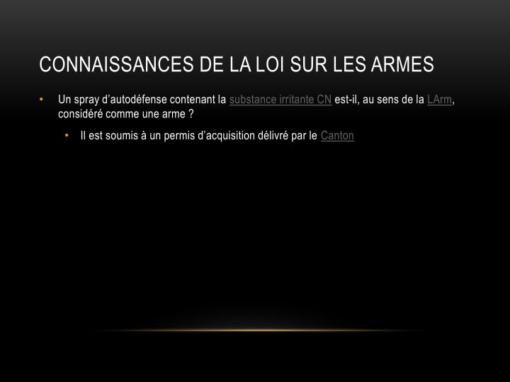 Ppt permis de port d armes powerpoint presentation id for Loi sur le ramonage des cheminees