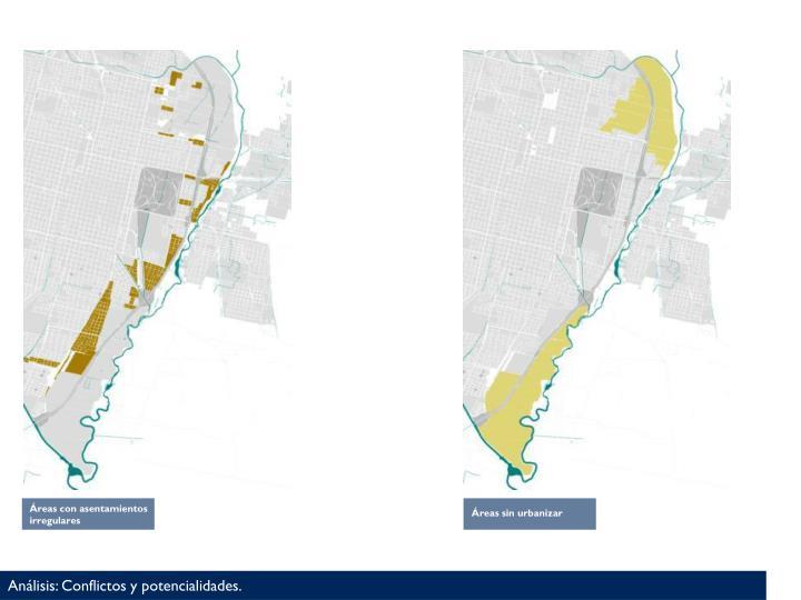 Áreas con asentamientos