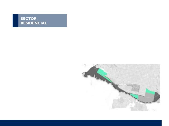SECTOR RESIDENCIAL