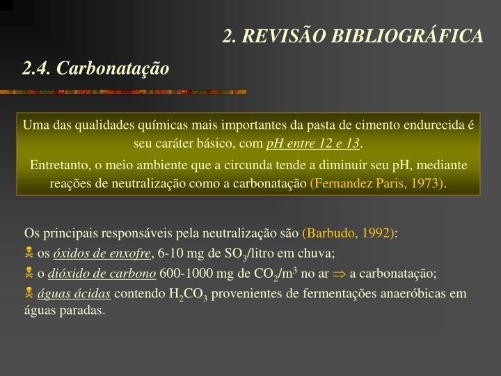 2. REVISÃO BIBLIOGRÁFICA