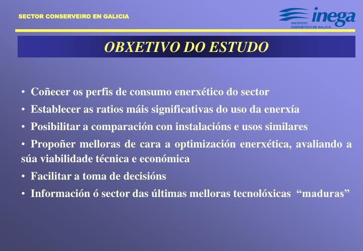 OBXETIVO DO ESTUDO
