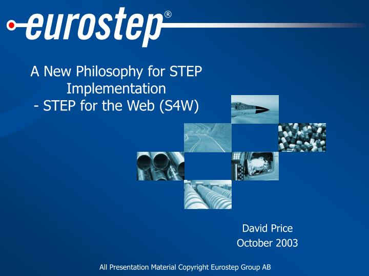 A new philosophy for step implementation step for the web s4w
