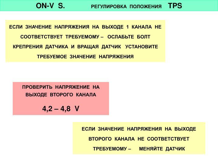 ON-V  S.