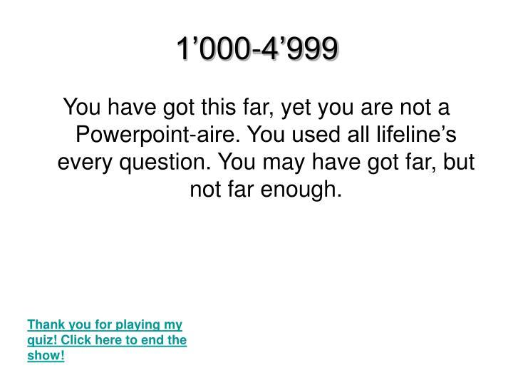 1'000-4'999