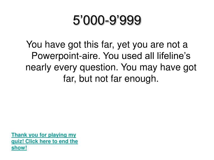 5'000-9'999