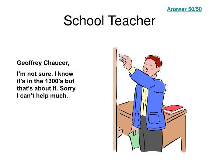 Answer 50/50