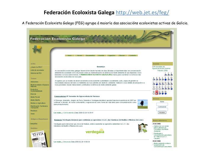 Federación Ecoloxista Galega