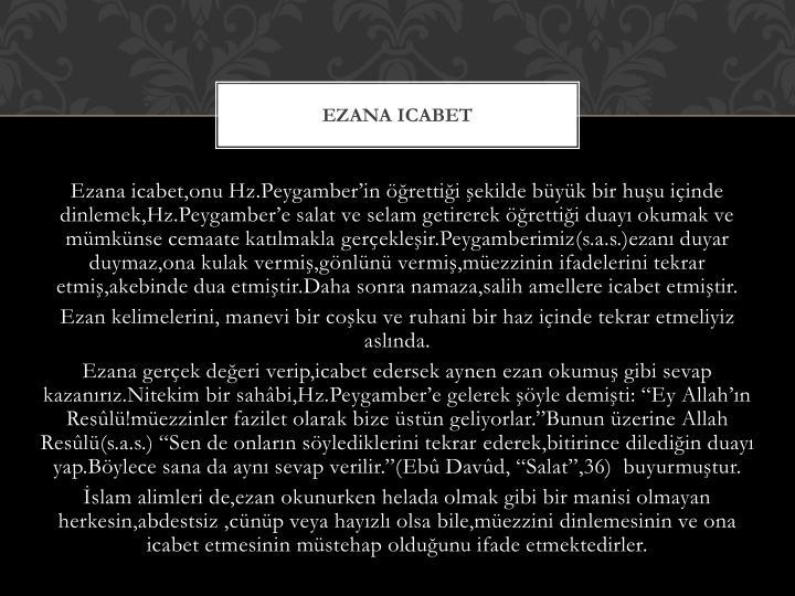 Ezana icabet
