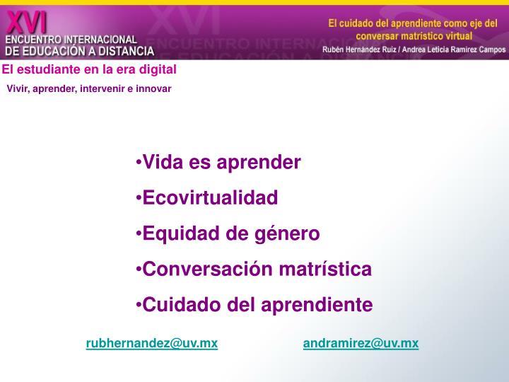 El estudiante en la era digital