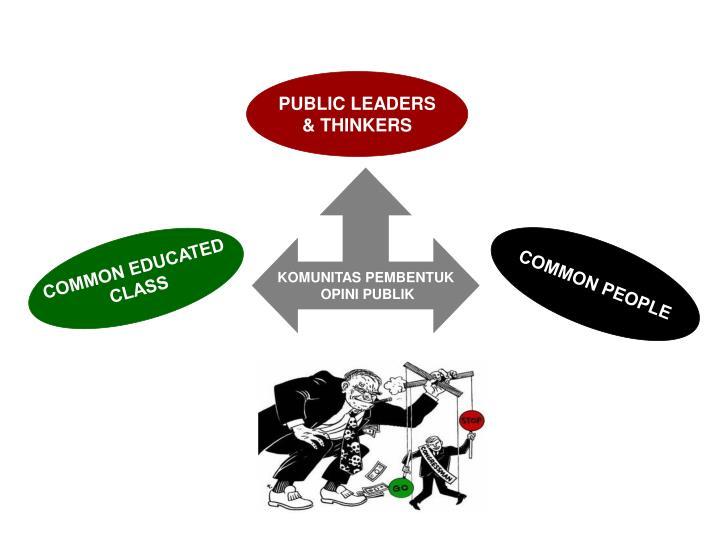PUBLIC LEADERS