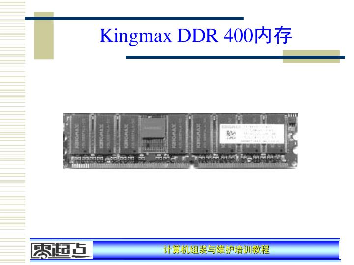 Kingmax DDR 400