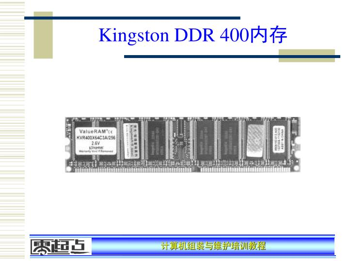 Kingston DDR 400