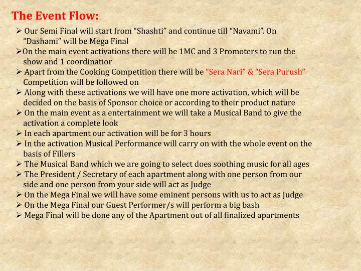 The Event Flow: