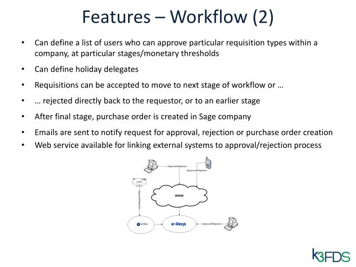 Features – Workflow (2)