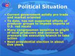 political situation