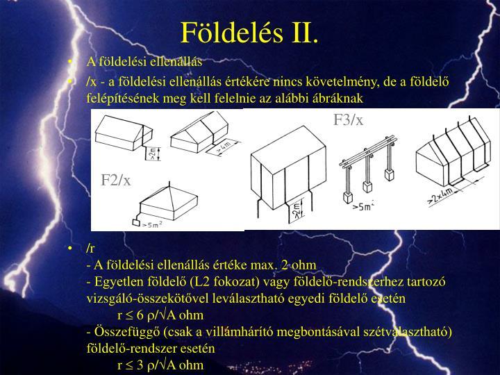 Földelés II.
