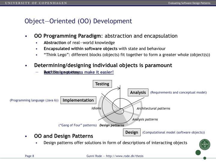 Object—Oriented (OO) Development